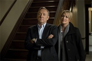 Kevin Spacey and Robin Wright create a duo to be reckoned with in DC. (Photo credit: Hitfix.com)
