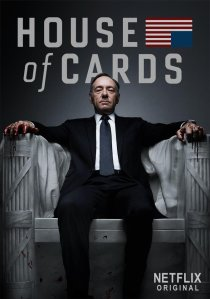 """House of Cards"" starring Kevin Spacey and Robin Wright is currently available on Netflix."